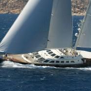 The Sun-Powered Yacht Race